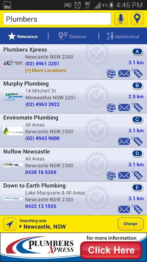 Local Directories - screenshot