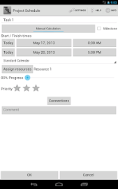 Project Schedule Screenshot 14