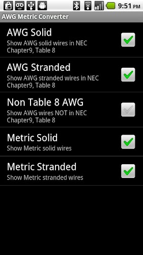 Awg metric wire converter on google play reviews stats awg metric wire converter android app screenshot awg metric wire converter android app screenshot greentooth Choice Image