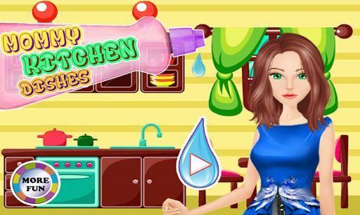 洗碗的女孩游戏