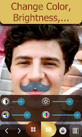 Screenshot of Moustache Mirror