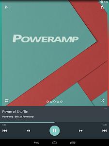 Poweramp skin Material v1.0