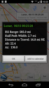 ISS Transit Prediction Free- screenshot thumbnail