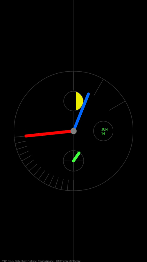 ARTware Clock Collection LWP- screenshot