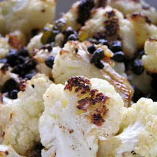 Roasted Cauliflower with Capers