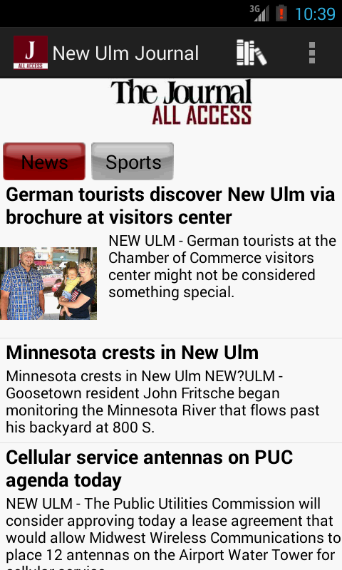 New Ulm Journal All Access- screenshot