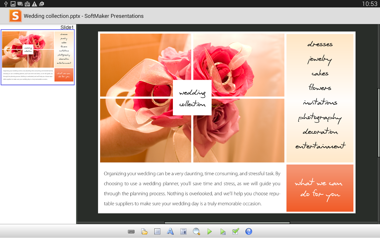 Office: Presentations Mobile- screenshot
