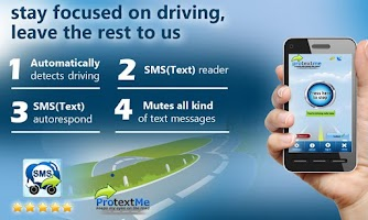 Screenshot of ProtextMe SMS text Reader #1
