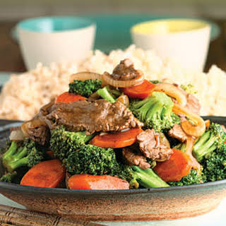Beef-And-Broccoli Stir-Fry.