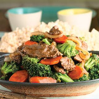 Beef-And-Broccoli Stir-Fry.