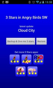 3 Stars in Birds SW - screenshot thumbnail
