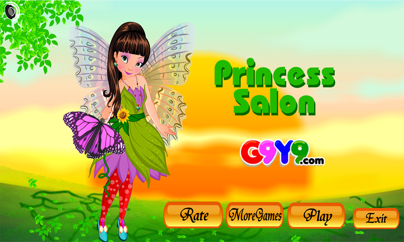 princess salon- screenshot