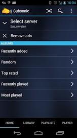 Subsonic Music Streamer Screenshot 4