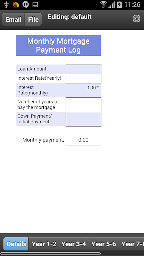 Mortgage Payment Tracker