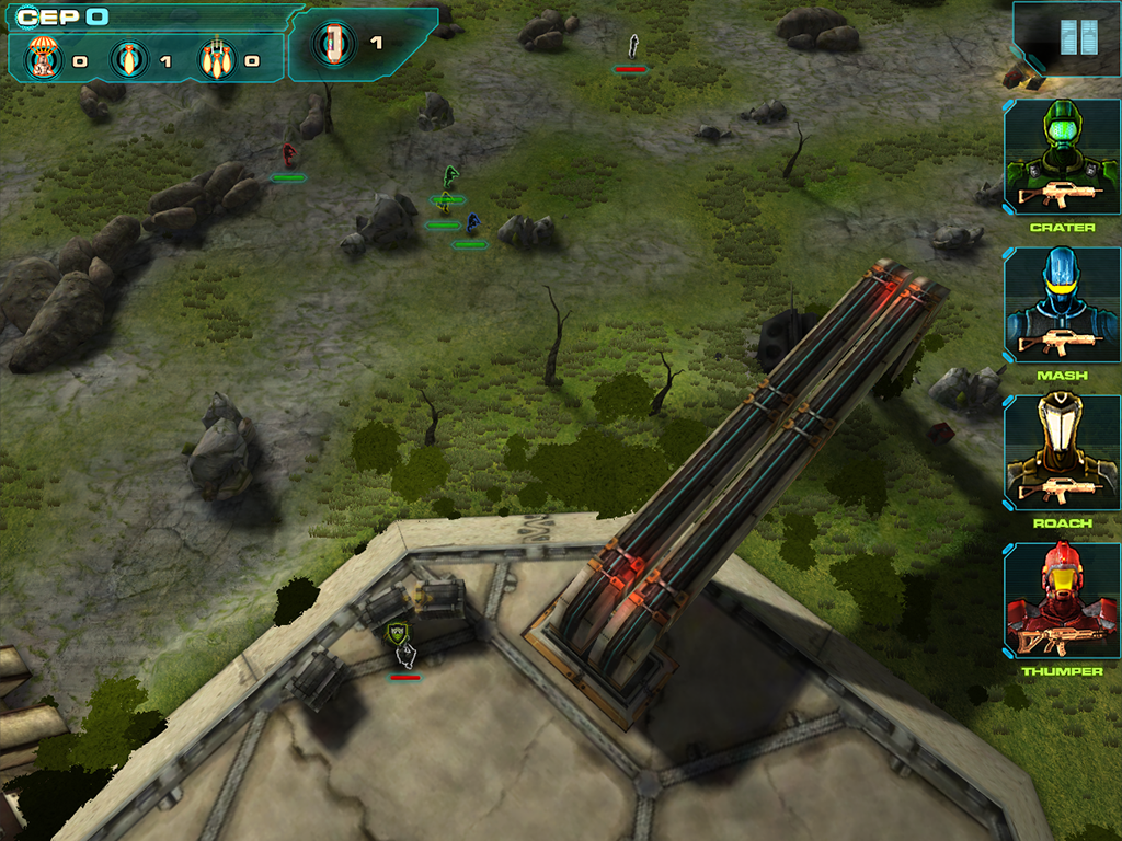 Line Of Defense Tactics - screenshot
