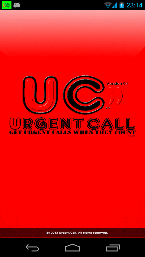 Urgent Call  Emergency Service- screenshot
