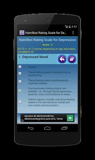 Hamilton Rating for Depression