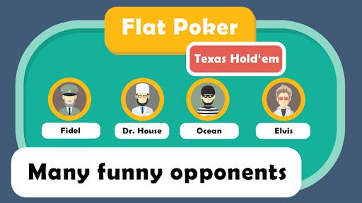 Flat Holdem Poker Offline