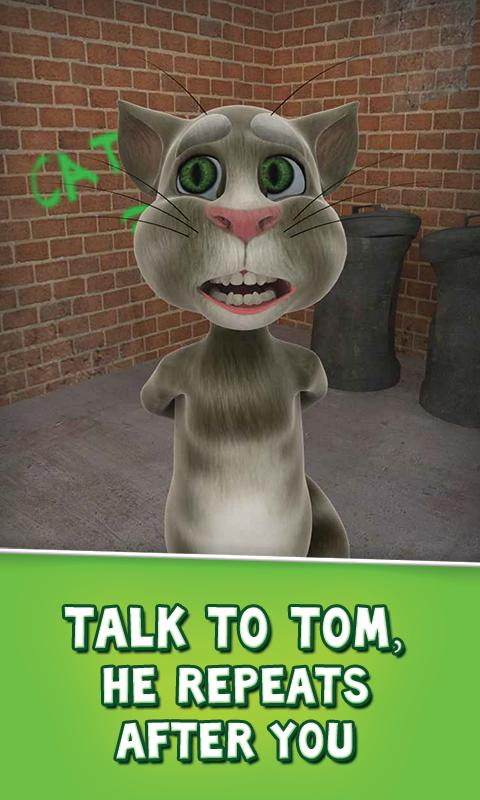 Talking Tom Cat Free - screenshot