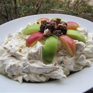 Chocolate Caramel Nut Salad.