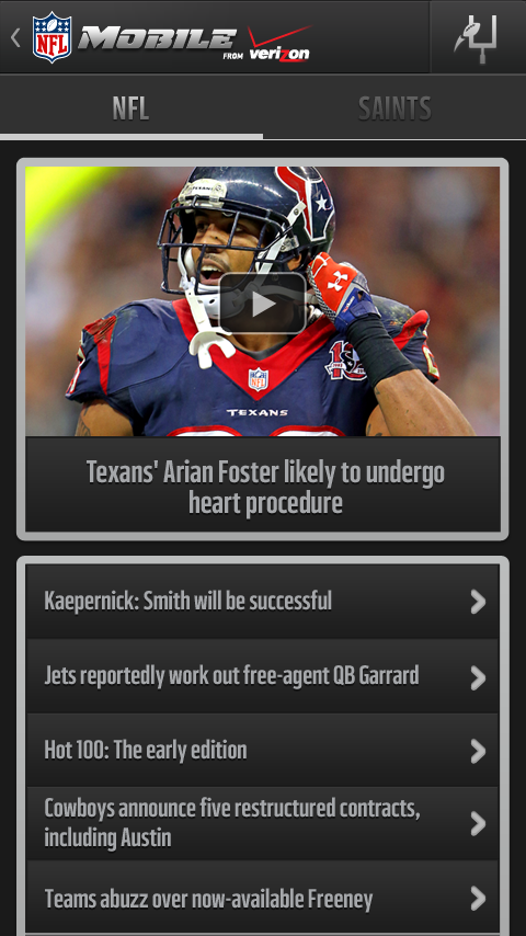 NFL Mobile - screenshot