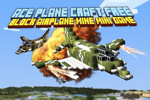 Ace Plane Craft Block Airplane