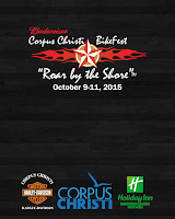 Screenshot of Corpus Christi BikeFest