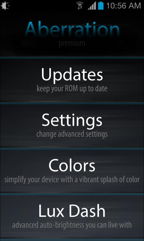 Aberration Settings Premium- screenshot