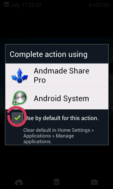 Andmade Share Pro- screenshot