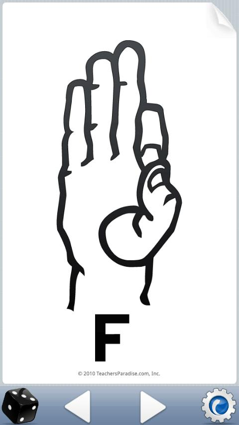ASL American Sign Language - screenshot