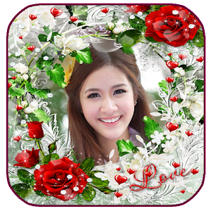 Flowers photo frame android apps on google play