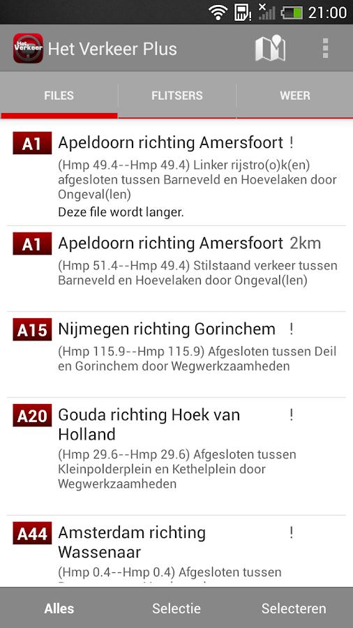 Het Verkeer plus - screenshot