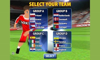 Screenshot of Euro Cup Kicks 2012