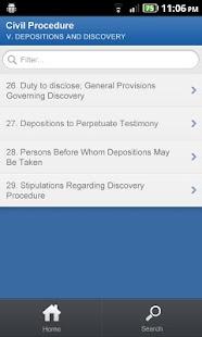 CA Penal Code - DroidLaw- screenshot thumbnail