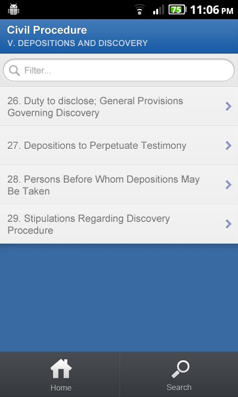 CA Penal Code - DroidLaw - screenshot