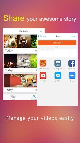android VivaVideo Pro:édition de vidéo Screenshot 6