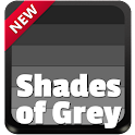 Shades of Grey Keyboard icon