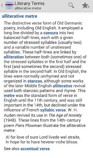 Oxford Literary Terms Tr