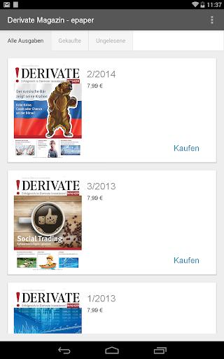Derivate Magazin - epaper