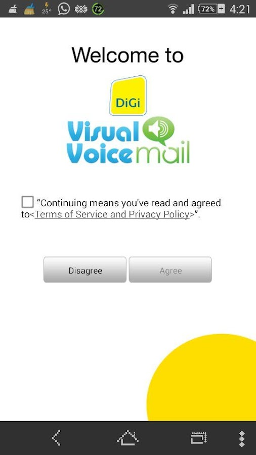 Digi Visual Voicemail - screenshot