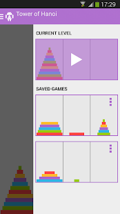Tower of Hanoi Pro - screenshot thumbnail