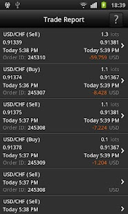 FXOpen Trader for Android - screenshot thumbnail