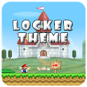 Mario Go Launcher Theme Locker icon