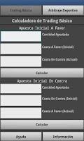 Screenshot of Calculadora de Apuestas