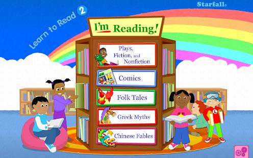 Starfall 学着阅读 2