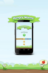 玩免費街機APP 下載Hungry Worms app不用錢 硬是要APP