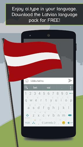 ai.type Latvian Predictionary