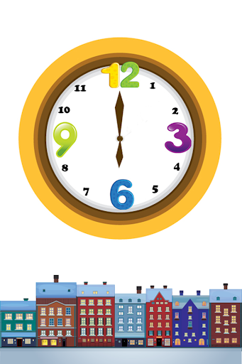 Learning Time Game For Kids