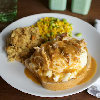 Slow Cooker Chicken and Gravy.