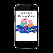 Colorindo o Mundo da Peppa
